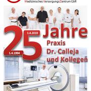 25 Jahre Praxis Dr. Calleja und Kollegen